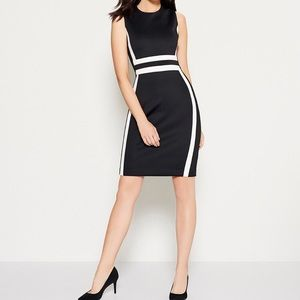 NWT - Calvin Klein - Colorblock Sheath Dress